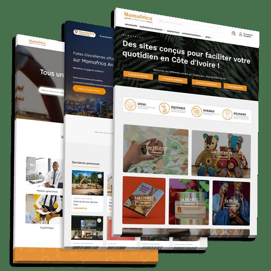Mamafrica produits locaux et services en COTE D'IVOIRE